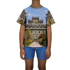 INVERARAY CASTLE Kid s Short Sleeve Swimwear