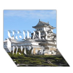 HIMEJI CASTLE YOU ARE INVITED 3D Greeting Card (7x5)