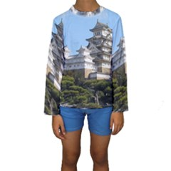 HIMEJI CASTLE Kid s Long Sleeve Swimwear