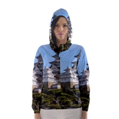 HIMEJI CASTLE Hooded Wind Breaker (Women)