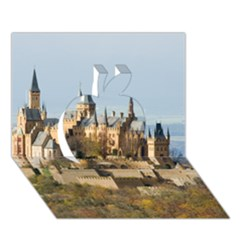 HILLTOP CASTLE Apple 3D Greeting Card (7x5)