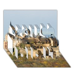 HILLTOP CASTLE You Did It 3D Greeting Card (7x5)