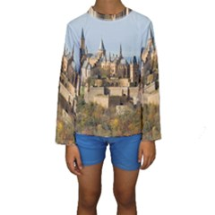 HILLTOP CASTLE Kid s Long Sleeve Swimwear