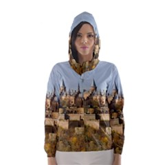 HILLTOP CASTLE Hooded Wind Breaker (Women)