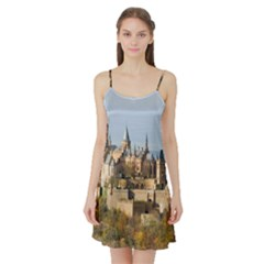 Hilltop Castle Satin Night Slip