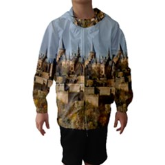 HILLTOP CASTLE Hooded Wind Breaker (Kids)