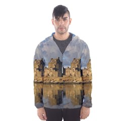 EILEAN DONAN CASTLE Hooded Wind Breaker (Men)