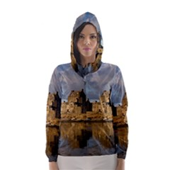 EILEAN DONAN CASTLE Hooded Wind Breaker (Women)