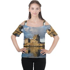 EILEAN DONAN CASTLE Women s Cutout Shoulder Tee