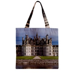 Chambord Castle Zipper Grocery Tote Bags