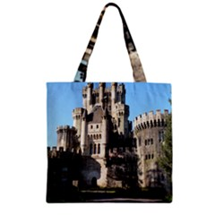 Butron Castle Zipper Grocery Tote Bags