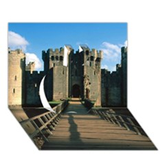 Bodiam Castle Apple 3d Greeting Card (7x5)