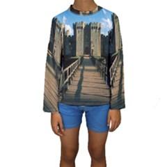 BODIAM CASTLE Kid s Long Sleeve Swimwear