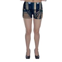 Bodiam Castle Skinny Shorts