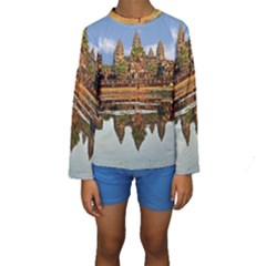 ANGKOR WAT Kid s Long Sleeve Swimwear
