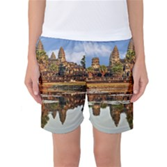 Angkor Wat Women s Basketball Shorts