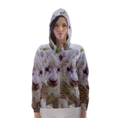 WHITE LION CUB Hooded Wind Breaker (Women)