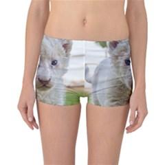 White Lion Cub Reversible Boyleg Bikini Bottoms
