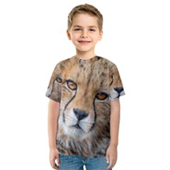 LEOPARD LAYING DOWN Kid s Sport Mesh Tees