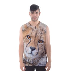 LEOPARD LAYING DOWN Men s Basketball Tank Top