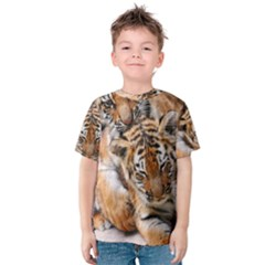 BABY TIGERS Kid s Cotton Tee