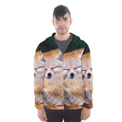 BABY FOX SLEEPING Hooded Wind Breaker (Men)