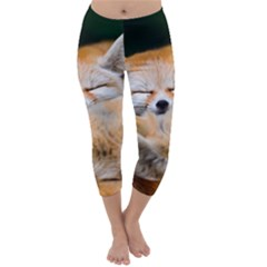 BABY FOX SLEEPING Capri Winter Leggings