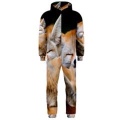 Baby Fox Sleeping Hooded Jumpsuit (men)