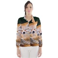 Baby Fox Sleeping Wind Breaker (women)