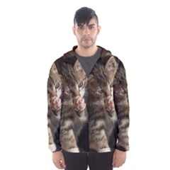 TALK TO THE PAW Hooded Wind Breaker (Men)