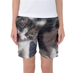 Questioning Kitty Women s Basketball Shorts