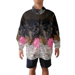 PUPPY WITH A CHEW TOY Wind Breaker (Kids)