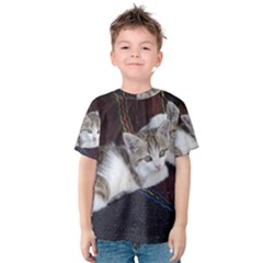 Kitty Twins Kid s Cotton Tee