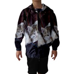 KITTY TWINS Hooded Wind Breaker (Kids)