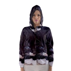 KITTY IN A CORNER Hooded Wind Breaker (Women)