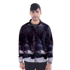 KITTY IN A CORNER Wind Breaker (Men)