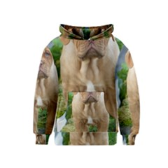 Cute Wrinkly Puppy Kid s Pullover Hoodies
