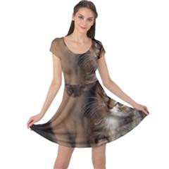 Cute Kitties Cap Sleeve Dresses