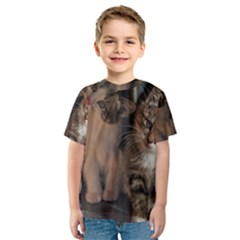 CUTE KITTIES Kid s Sport Mesh Tees