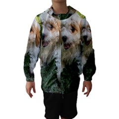 CUTE CAVAPOO PUPPY Hooded Wind Breaker (Kids)