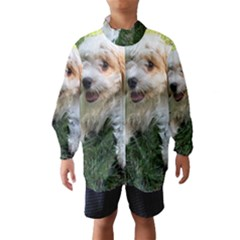 CUTE CAVAPOO PUPPY Wind Breaker (Kids)