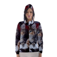 COMFY KITTY Hooded Wind Breaker (Women)