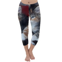 COMFY KITTY Capri Winter Leggings