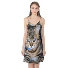 Blue Eyed Kitty Camis Nightgown