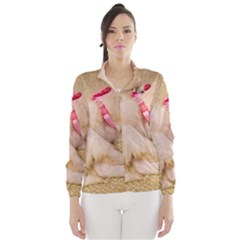 ADORABLE SLEEPING PUPPY Wind Breaker (Women)