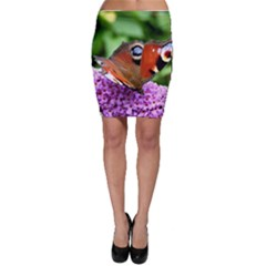 Peacock Butterfly Bodycon Skirts