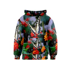 Butterfly Flowers 1 Kid s Pullover Hoodies