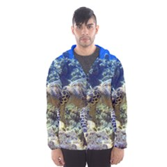 SEA TURTLE Hooded Wind Breaker (Men)