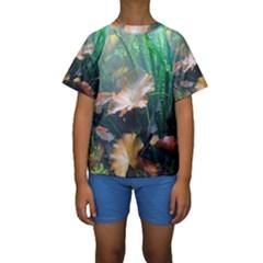 MARINE LIFE Kid s Short Sleeve Swimwear