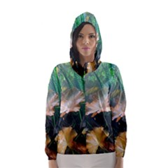 MARINE LIFE Hooded Wind Breaker (Women)